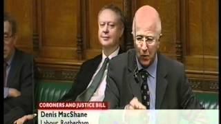 House of Commons, Sir Alan Haselhurst, watch your language