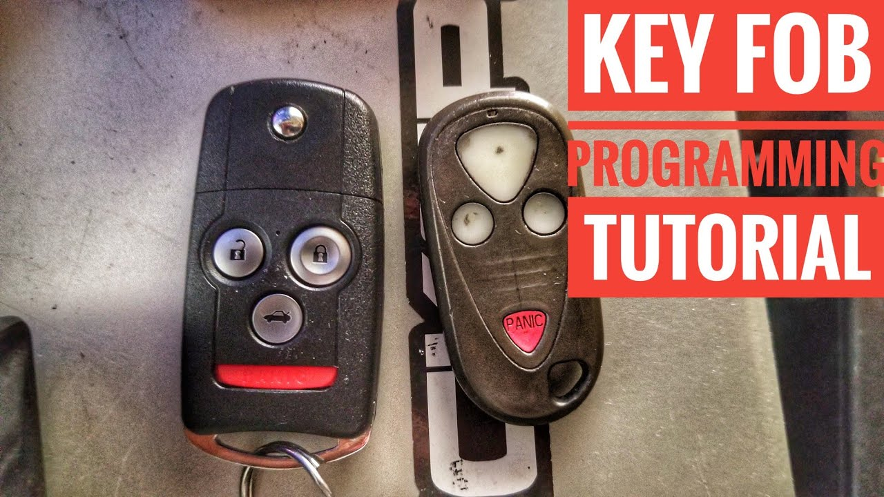 how to program your honda acura remote keyfob yourself quick and easy in less than a minute [ 1280 x 720 Pixel ]