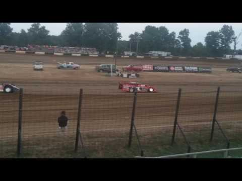 World of Outlaws Late Model Hot Laps Part 2  Fayette County Speedway