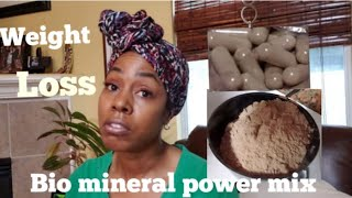 Weight Loss/Bio Mineral Power Mix...#Dr. Sebi inspired Grinding and Encapsulating Herbs