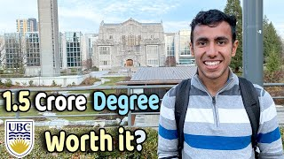 Life of Indian Students in Canada's Best Universities | UBC Campus Tour