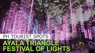 Ayala Triangle Christmas Festival of lights 2018. Reimagine the Magic: A festival of lights