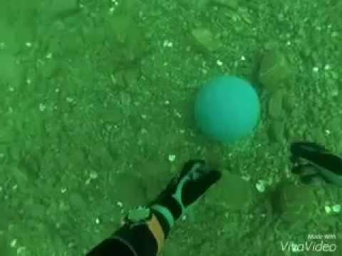 Underwater Free Throw - Lake Phoenix, 9/12/15