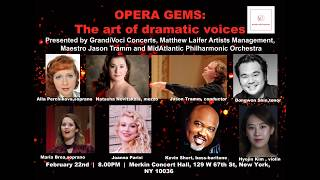 Opera gems: the art of dramatic voices