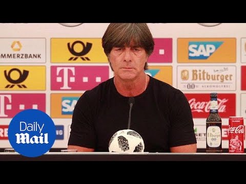Joachim Low reveals Germany World Cup squad without Leroy Sane - Daily Mail