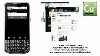 CricketUsers.com - Part 2 Sprint Motorola XPRT Full Flash to Cricket Tutorial