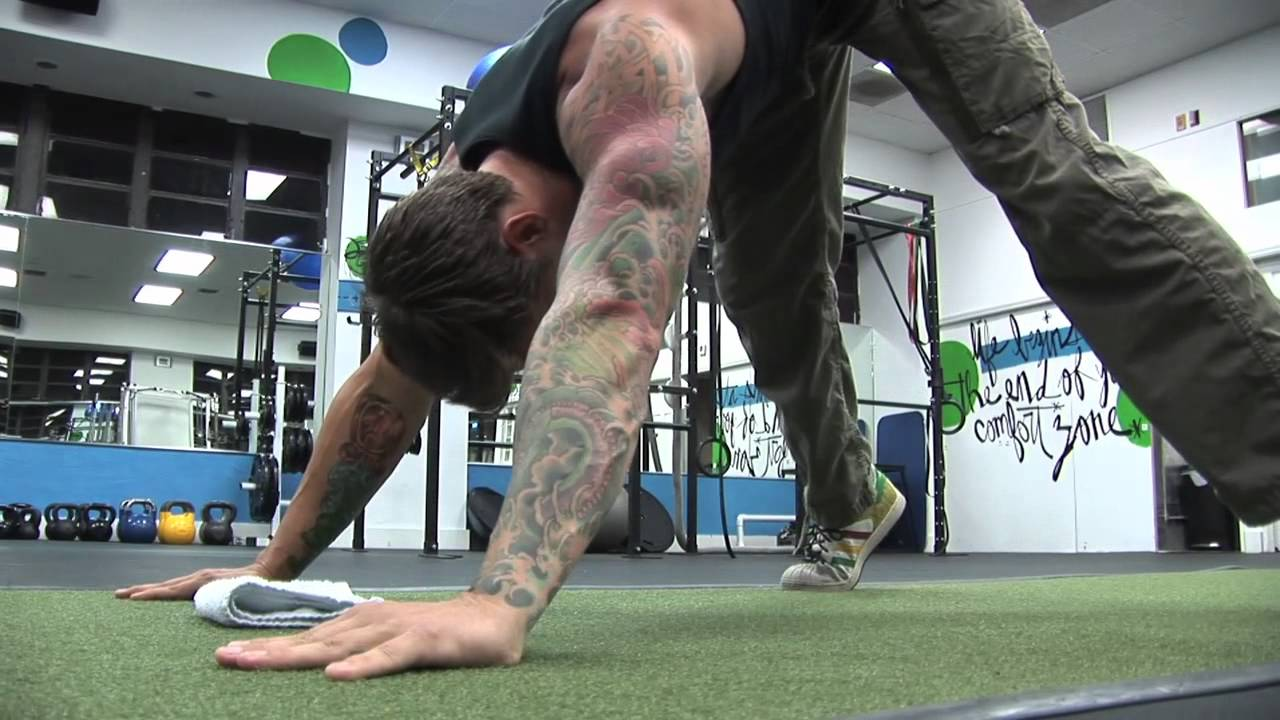 The Pike Push-Up Tutorial - YouTube