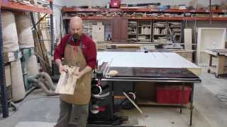 Resawing On Your Sawstop Table Saw
