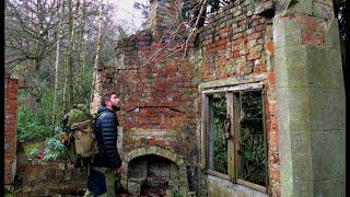 Sleeping Inside A Woodland Ruin.
