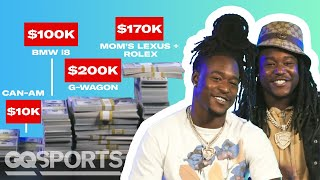 How Shaquill and Shaquem Griffin Spent Their First $1M in the NFL | My First Million | GQ Sports