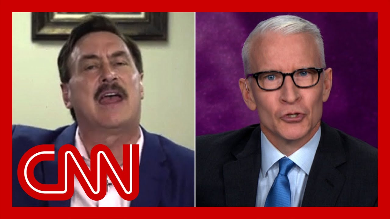 Download Anderson Cooper clashes with MyPillow creator over therapeutic (Entire Interview Part 1)
