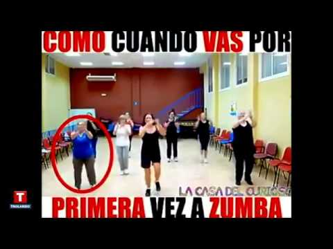 Primeira Aula De Zumba First Time At Zumba Class Funny Caloura Maluca