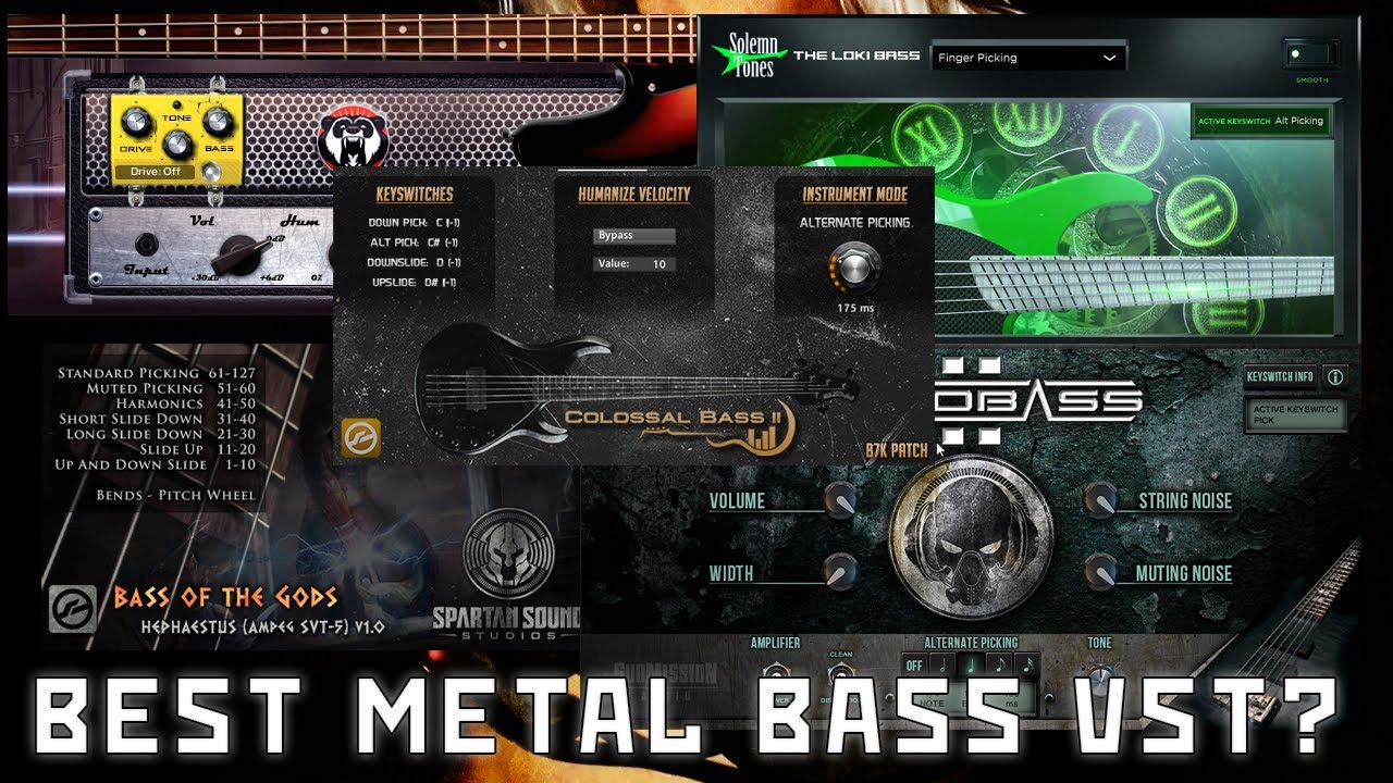 Top 5 Best Metal Bass Vst Instruments For Metal For 2020 Youtube