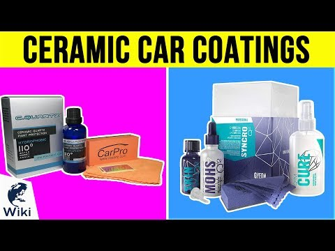 10 Best Ceramic Car Coatings 2019