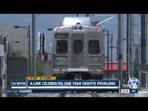 RTD's A-Line still not fixed, celebrates one-year anniversary