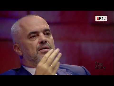 Kryeministri Edi Rama në Top Story