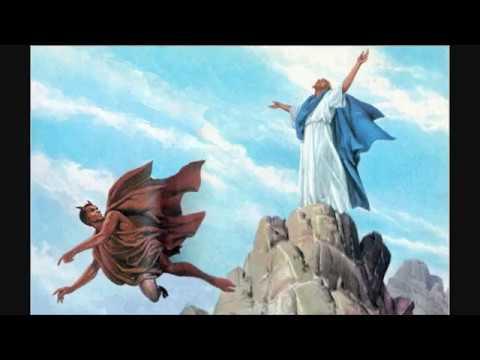 Biblia  Mateo 4 - Tentación de Jesús & Biblia : Mateo 4 - Tentación de Jesús - YouTube