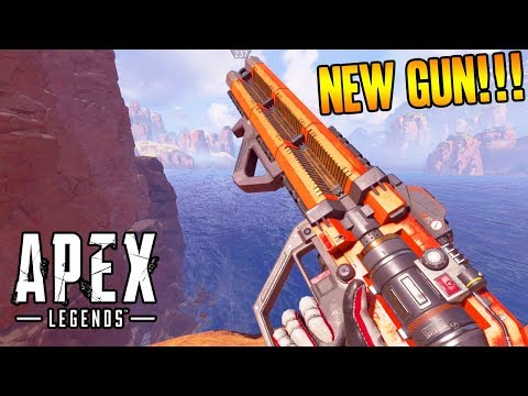 NEW HAVOC RIFLE GUN GAMEPLAY in APEX LEGENDS! (Apex Legends Battle Royale Gameplay)