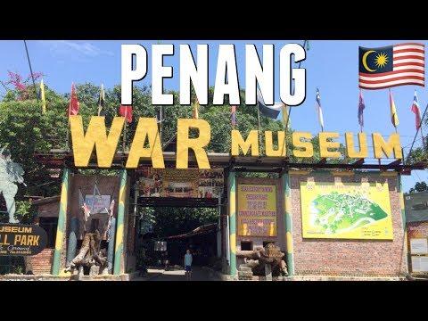 Penang War Museum | Full time travel family vlog