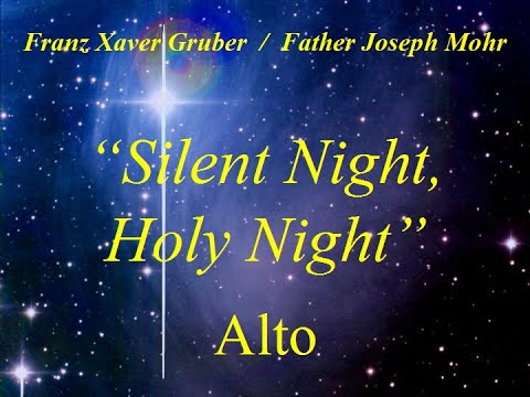 Silent Night - Alto