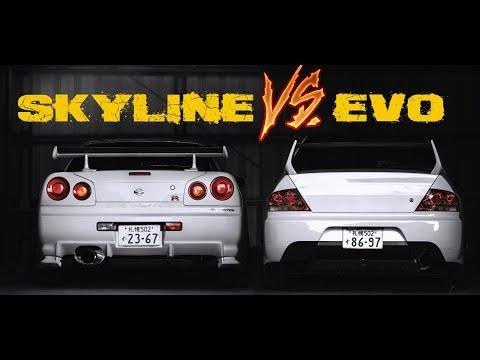 SKYLINE R34 VS