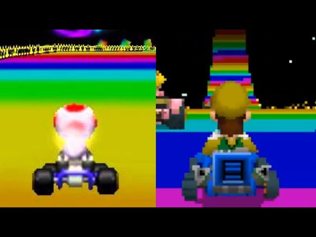 Every Mario Kart 64 Track in Mario Kart DS (Kind of...)