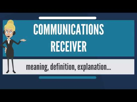 what-is-communications-receiver-what-does-communications-receiver-mean