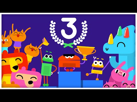 """The Number Three,"" Number Songs by StoryBots"