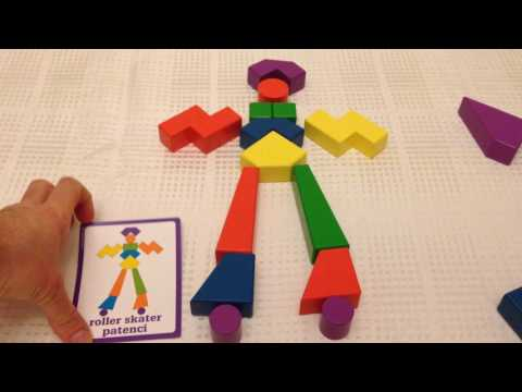 Hard Shapes With Block Buddies Wooden Blocks Puzzle