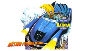 Here Comes the Batmobile 45 RPM Song
