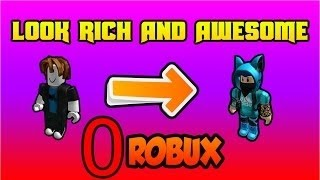 How to look cool on Roblox with 0 robux (GIRLS)