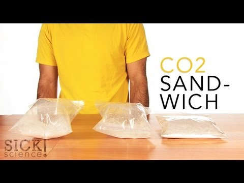 Have any vinegar and baking soda around the house? How about some plastic bags? Cups and spoons to measure? If so, this Sick Science! CO2…