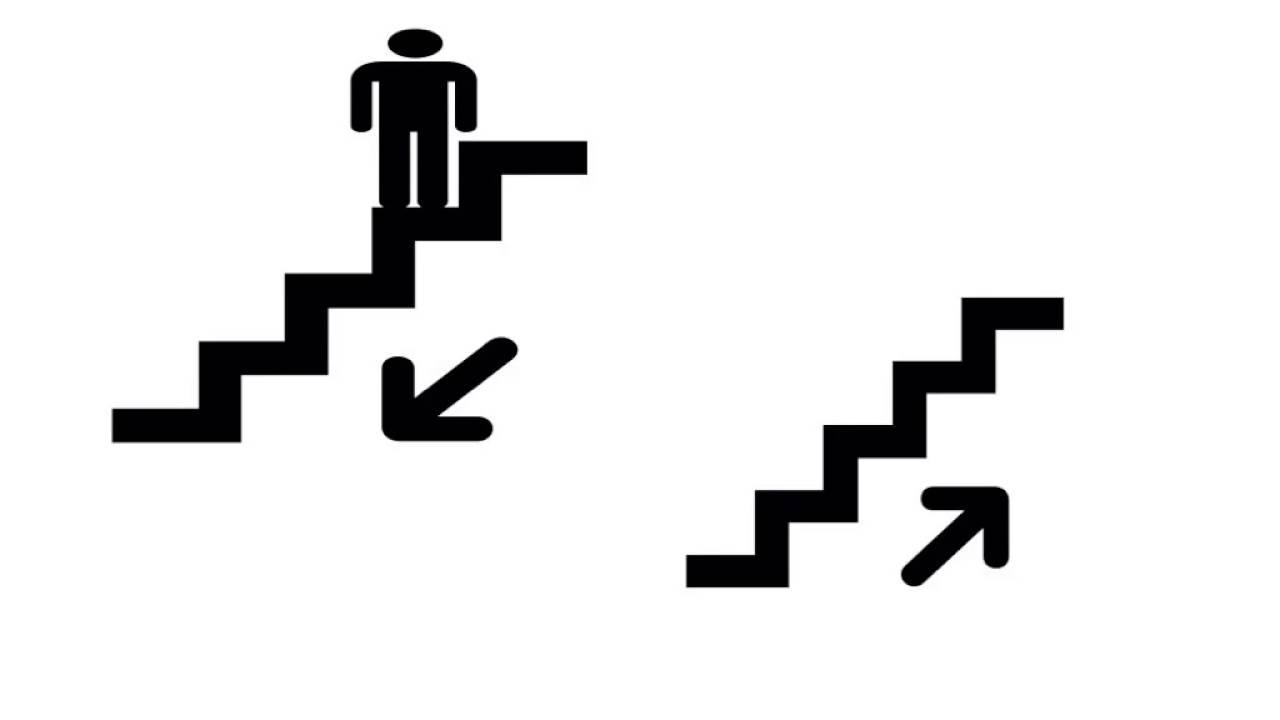 Subir y bajar escaleras youtube for Escaleras retractiles