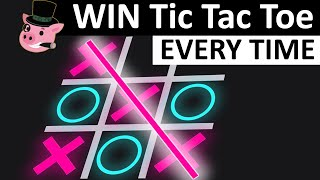 WIN TIC TAC TΟE EVERY TIME - NEVER LOSE AT TIC TAC TOE