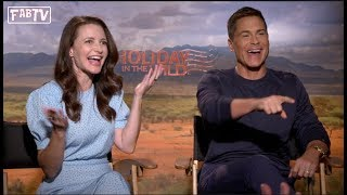 Kristin Davis amp Rob Lowe star in quotHoliday in the Wildquot