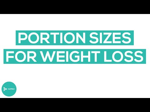 Portion Sizes For Weight Loss | How To Lose Weight With Proper Food Portion Sizes | IntroWellness