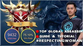 🔴Global 5 Hanzo | Assassin Dave | Mobile Legends | MLBB