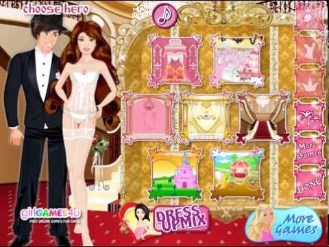 Flash game Princess wedding - Свадьба принцессы