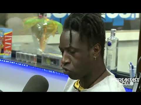Saul Williams The breakfast club interview clip