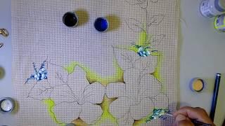 Como Pintar Hibisco – com Roberto Ferreira