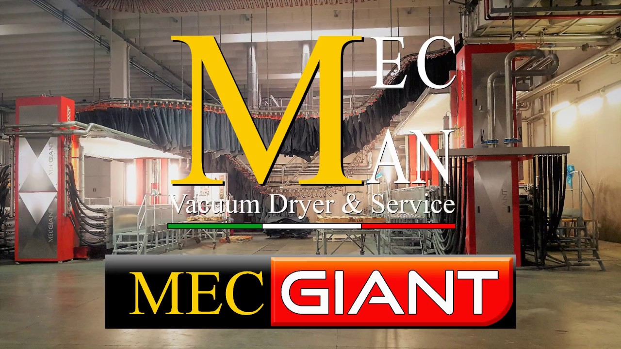 newest a577f 82379 Essiccatoio sottovuoto Mec Giant | Mec Man