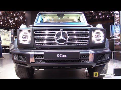 2019 Mercedes G-Class G500 - Exterior And Interior Walkaround - Debut At 2018 Detroit Auto Show