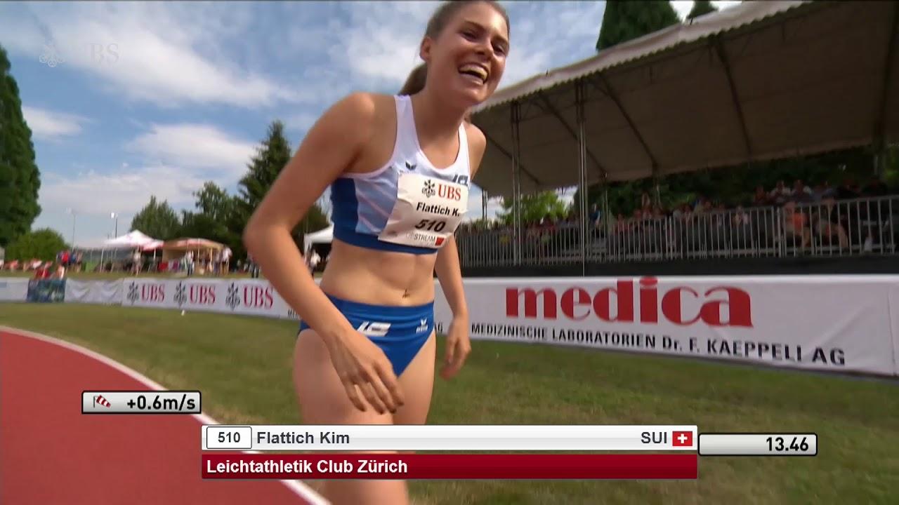 moderne Techniken Beste Turnschuhe SM Zofingen 2018: 100m Hürden Frauen Final