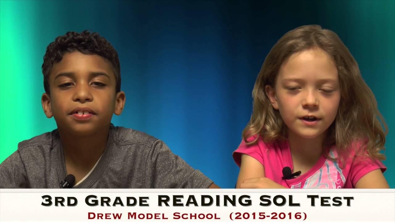 Drew Model Va Sol Test Review 3rd Grade Youtube
