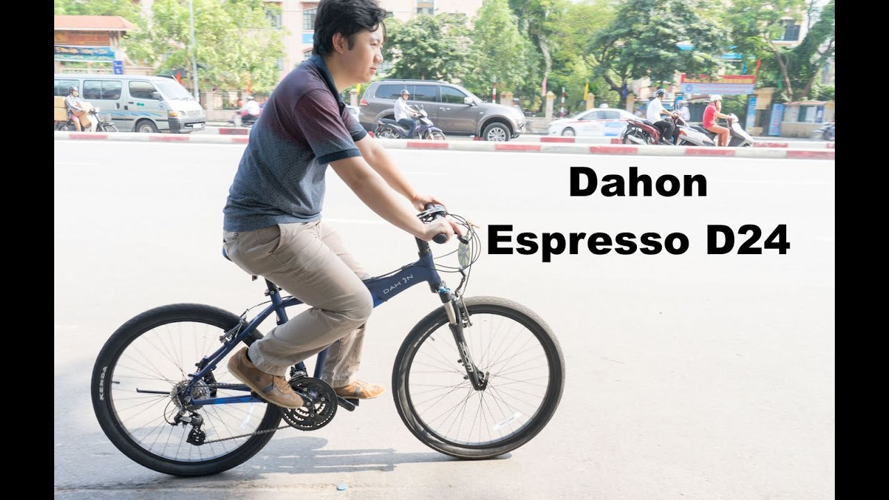 Dahon Espresso D24 Folding Bike Review Comfortable Riding With 26 Inch Wheels