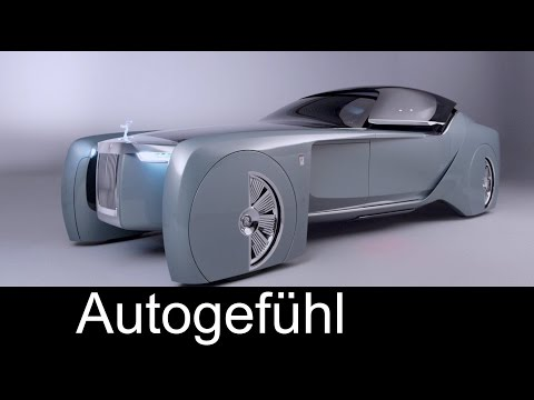 "Rolls-Royce future car concept ""Vision Next 100"" - Autogefühl"
