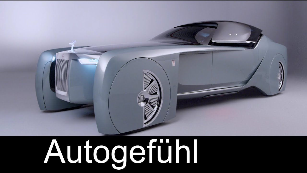rolls royce future car concept vision next 100 autogefhl youtube