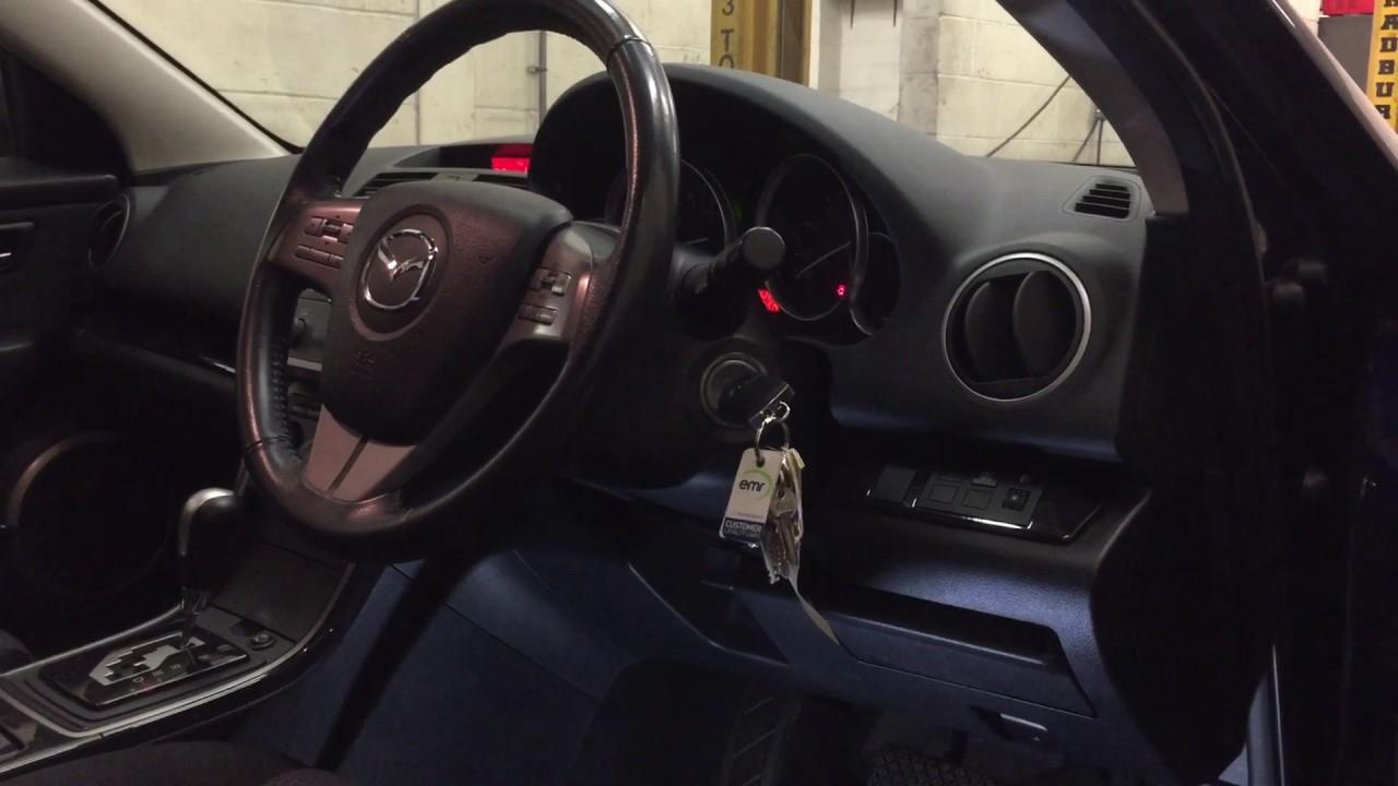 Mazda 6 Diagnostic socket