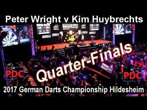 2017 German Darts Championship Hildesheim Peter Wright v Kim Huybrechts   Quarter-Finals