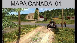 ETS2 MAPA CANADA V 1.30